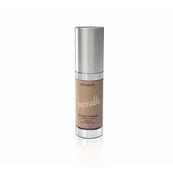 Mirabella Invincible Anti-Aging Full Coverage HD Liquid Foundation - Dark (V), 1 fl.oz.