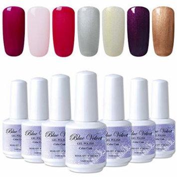 7-Bottle 15ml Gel Nail Polish Set For Manicure 12 Variations UV LED Gel Varnish Christmas Gift Kit For Nail Art