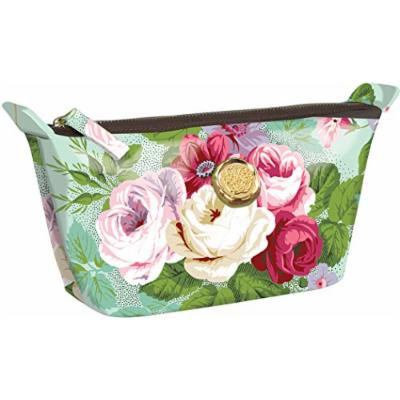Amelie Floral Small Cosmetic Bag