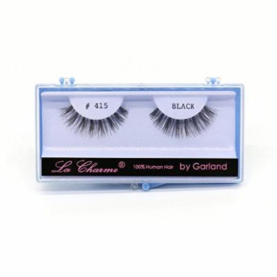 (PACK OF 6) PREMIUM 100% NATURAL HAIR DEMI WISPIE EYELASHES WITH HARD BLUE CASE, #415