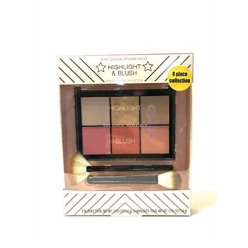 The Color Workshop Highlight And Blush 8 pc Collection