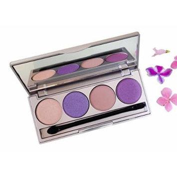 Honeybee Gardens Moon & Stars Refillable Eye Shadow Palette | Natural Ingredients | Gluten Free, Vegan, Paraben Free