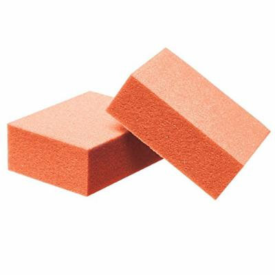 For Pro Mini Buffing Block, Orange, 100/180 Grit, 1000 Count