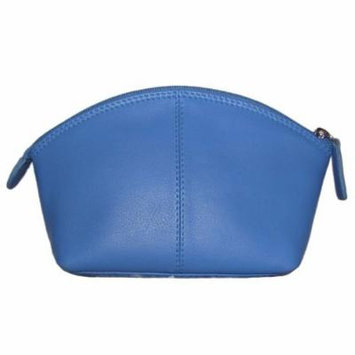 Leather Cosmetic Make-up Case (Purple)