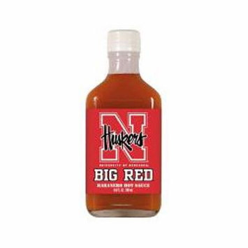 Nebraska Cornhuskers 6.6 oz. Team Logo Habanero Hot Sauce