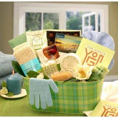 Yoga Gift: A Little Yoga & Green Tea Essentials Gift Set