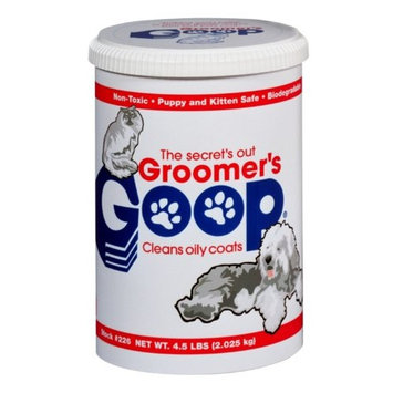 GROOMER'S GOOP Crème Degreaser Can for Oily Coats, 4.5-Pound