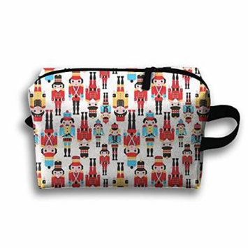 Nutcracker Makeup Bag Cosmetic Bag Travel Cosmetic Bags Hanging Hook For Couple