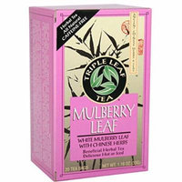Triple Leaf Tea - Mulberry Leaf - 20 Tea Bags - 1 Case - Yeast Free - Vegan