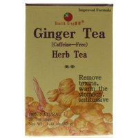 Health King Ginger Herb Tea, Teabags - 20-Count Box, 4 pack by HEALTH KING MEDICINAL TEAS