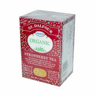 St. Dalfour Premium Organic Strawberry Tea (11 X 1.75 Oz)