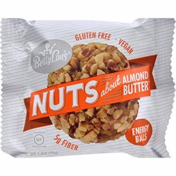 Betty Lou s Nut Butter Balls - Almond Butter - 1.4 oz - 40 ct - Yeast Free - Wheat Free -