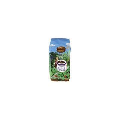 Jim's Organic Coffee Whole Bean Coffee - Espresso Jimbo 11 oz (312 grams) Pkg by Jim's Organic Coffee
