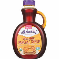 Wholesome Sweeteners Pancake Syrup - Organic - Original - 20 oz - case of 6 - 95%+ Organic - Vegan