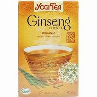 - Yogi Tea - Ginseng Flower Tea | 17 Bag | BUNDLE by Yogi Tea
