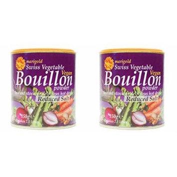 - Marigold - Veg Bouillon Powder Red Salt | 150g | BUNDLE by Marigold
