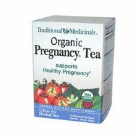 Traditional Medicinals Organic Pregnancy Herbal Tea - 16 Tea Bags - Case of 6 - 100% Organic -