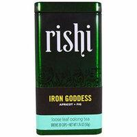 Rishi Loose Tea,Iron Goddess 1.76 Oz (Pack Of 6)