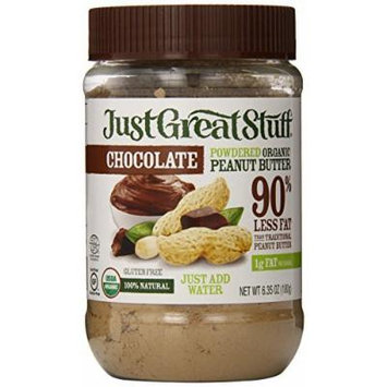 Just Great Stuff Powdered Chocolate Peanut Butter - Case of 12 - 6.43 oz by Betty Lou's