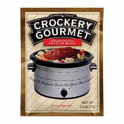 Crockery Gourmet Seasoning Mix - Beef - Case of 12 - 2.5 oz.