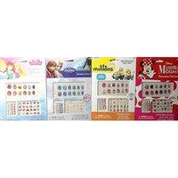 4 Pack Decorative Nail Art Disney Minnie Mouse, Frozen, & Princess PLUS Minions