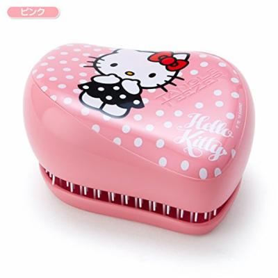 Sanrio Hello Kitty hairbrush Tangle Teaser compact Styler pink From Japan New