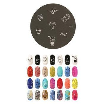 Konad Stamping Nail Art Image Plate - M11