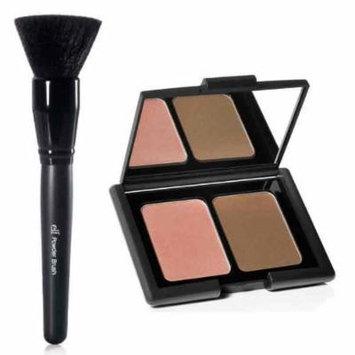 elf Studio Contouring Blush & Bronzing Powder and Powder Brush by e.l.f. Cosmetics & NY Mo Deals Kits