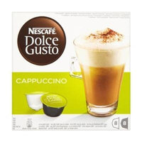 2 X NescafàDolce Gusto Cappuccino 16 Capsules, 8 servings (Total 48 Capsules/coffee pods, 24 servings) by Nescafe