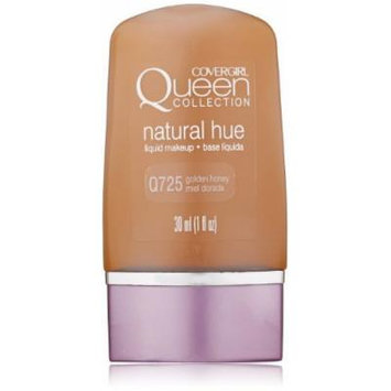 CoverGirl Queen Collection Liquid Makeup Foundation, Golden Honey 725, 1.0 Ounce Bottle by COVERGIRL
