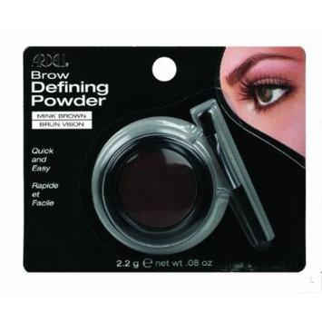 Ardell Brow Defining Powder, Mink Brown, 0.08-Ounce (Pack of 3) by Ardell