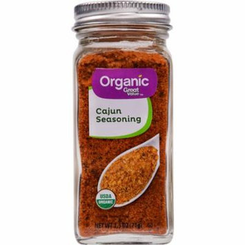 Great Value Organic Cajun Seasoning, 2.5 oz