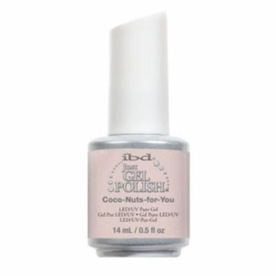 ibd Just Gel Polish - Island of Eden Spring 2016 Collection - Coco-Nuts-For-You - 0.5oz / 14ml by IBD