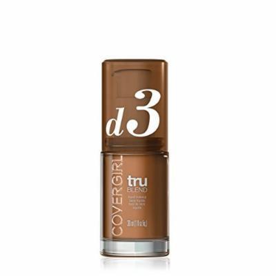 COVERGIRL truBlend Liquid Foundation Makeup Honey Beige, 1 fl oz (30 ml) by COVERGIRL