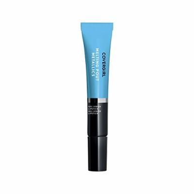 Covergirl Melting Pout Metallics Liquid Lipstick, Sunday Blue, 0.3 Ounce