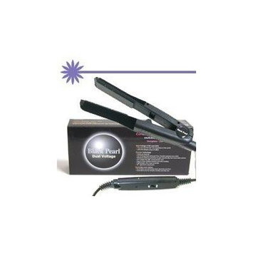 Black Pearl Dual Voltage Ceramic Flat Iron by Magic Ionic