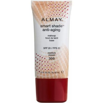 Almay Smart Shade Anti-Aging Foundation Makeup - Medium 300 30 ml Foundation for Women by Almay