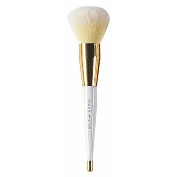 BM Goddess Scepter Makeup Brush - Face Brush 1 Count (White and Gold 1.1 Ounce)
