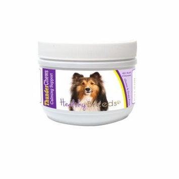 Healthy Breeds ThunderChews Dog Calming Chews for Shetland Sheepdog, Anxiety Support, Easier than Pills or Tablets, Tastes like a Treat, 60 Count