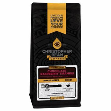 Chocolate Raspberry Flavored Decaf Whole Bean Coffee, 12 Ounce Bag