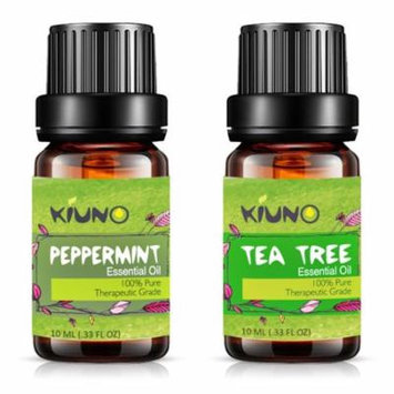 Peppermint Tea Tree Essential Oil, Top 2Pure Therapeutic Grade Aromatherapy Oils