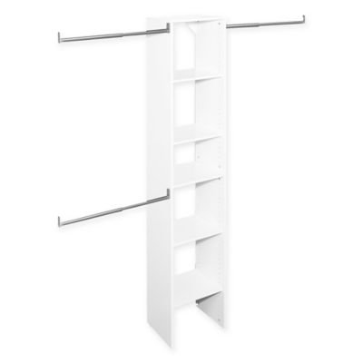 ClosetMaid® SuiteSymphony™ 16-Inch Tower Starter Kit in Pure White