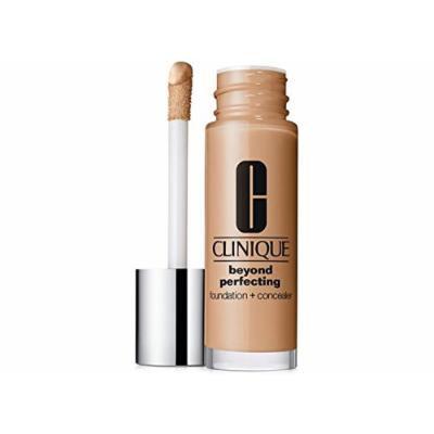 Clinique Beyond Perfecting Foundation + Concealer - Lightweight, Moisturizing Makeup (Vanilla)