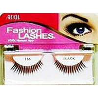 Ardell Fashion Lashes #116 Black (4-Pack) by American International Industries