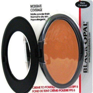 Black Opal Creme To Powder Foundation Rich Caramel (3-Pack) by Black Opal