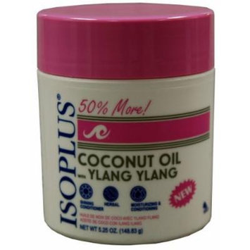 Isoplus Coconut Oil with Ylang 160 ml (Pack of 2) by Isoplus