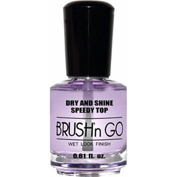 duri Brush'n GO Dry and Shine Speedy Top Coat .61 fl. oz. by Duri Cosmetics