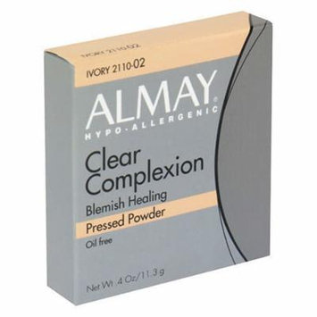 Almay Clear Complexion Pressed Powder, Ivory - .4 oz by Almay