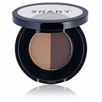 SHANY Brow Duo Makeup Kit, Paraben Free, Brunette, 1 Ounce by SHANY Cosmetics