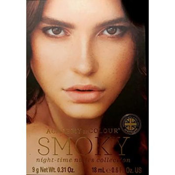 Academy of Colour 7 Piece Smoky Night-Time Nudes Collection Make Up Gift Set AC103